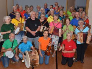 Un orchestre de 40 musiciens amateurs